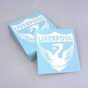 Liverpool Custom Cut-Out Stickers