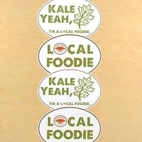 Local Bounty Custom Oval Stickers