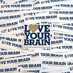 Love Your Brain Custom Die-Cut Stickers
