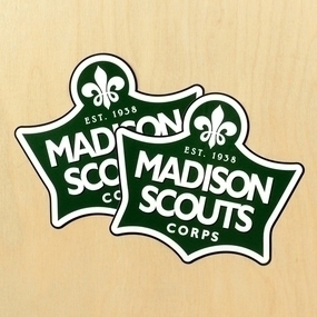 Madison Scouts Corp Custom Die Cut Stickers