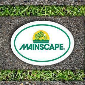 Mainscape Oval Stickers