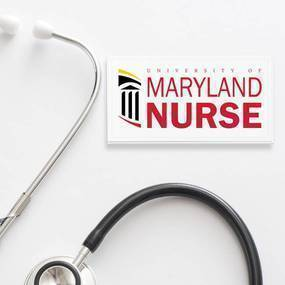 University of Maryland Nursing School Rectangle Stickers
