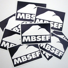 MBSEF Custom Rectangle Stickers