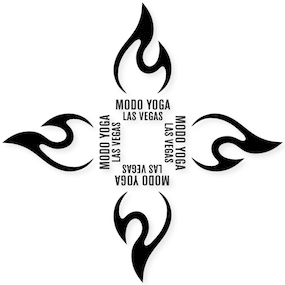 Modo Yoga Las Vegas Custom Cut Out Stickers