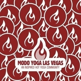 Modo Yoga Las Vegas Circle & Die Cut Stickers