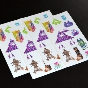Monster Sticker Sheets