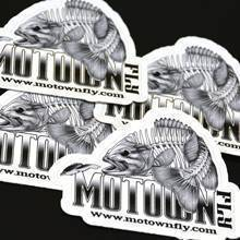 Motown Fly Die Cut Sticker