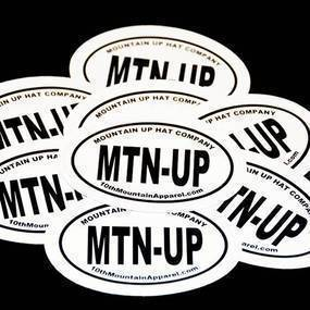 MTN-UP Oval Stickers