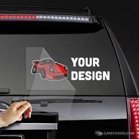 MC Transfer Sticker Car Window