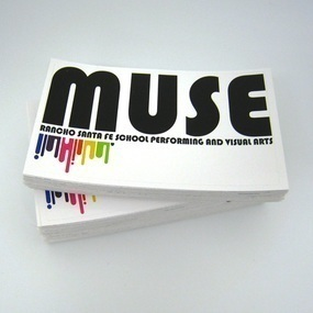 MUSE Custom Rectangle Stickers