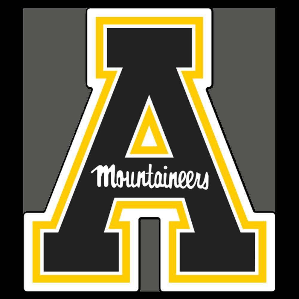 Appalachian State Mountaineers NCAA Logo Sticker