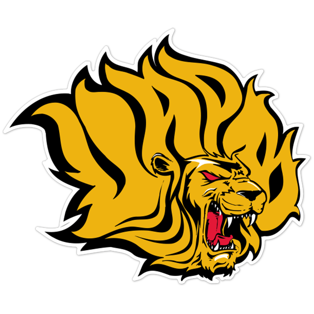 Arakansas-Pine Bluff Golden Lions NCAA Logo Sticker