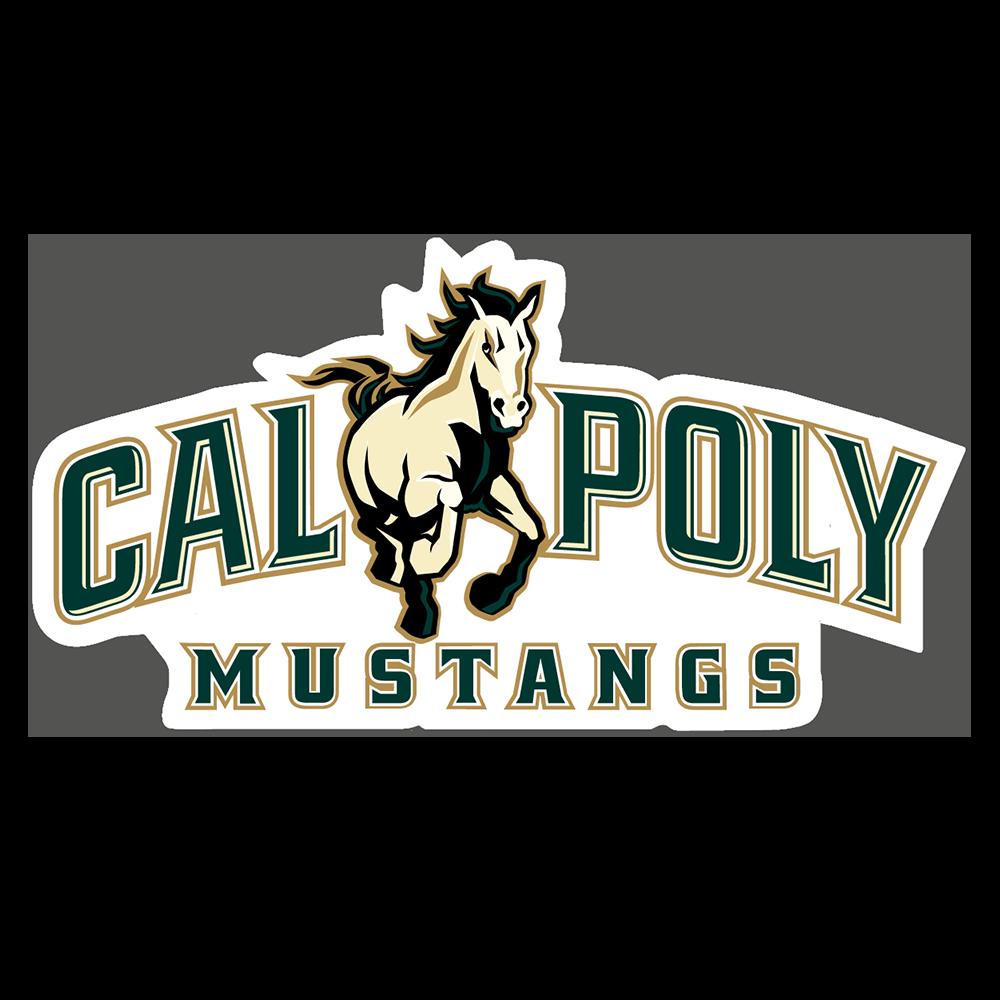 Cal Poly Mustangs NCAA Logo Sticker