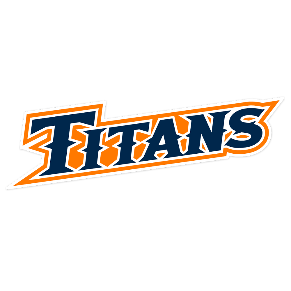 Cal State Fullerton Titatns NCAA Logo Sticker