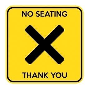 No Seating 3
