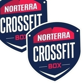 Norterra Crossfit Custom Die Cut Stickers