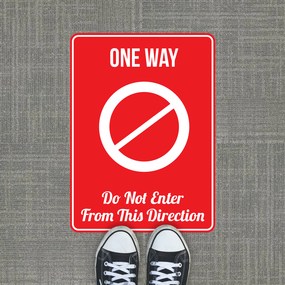 One Way Exit 3