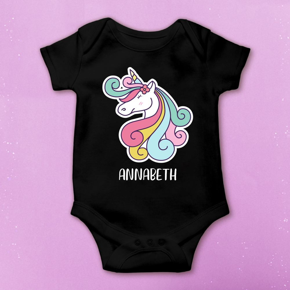 Custom Unicorn Onesie