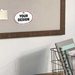 Oval Magnet Board
