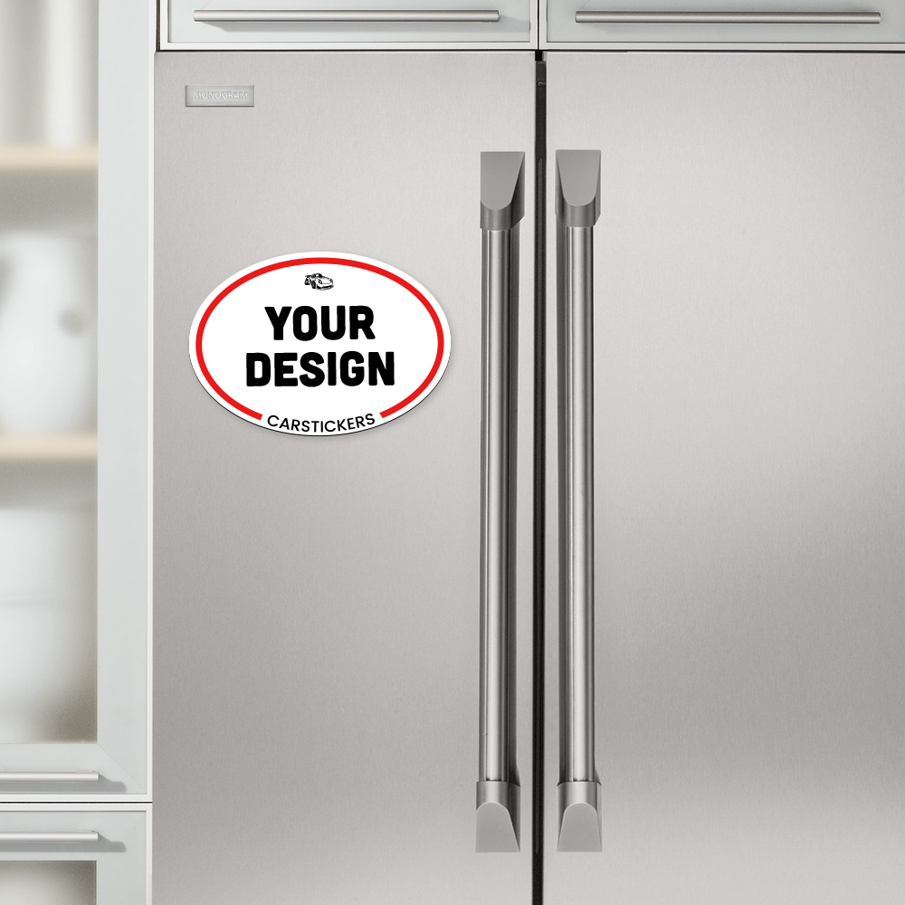 Oval Magnet Refrigerator