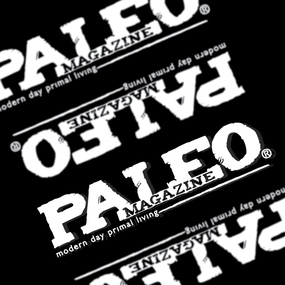 Paleo Magazine Custom Cut Out Stickers