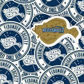 Reel Skillz Custom Circle Stickers