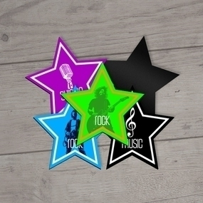 Rock Star Custom Magnets
