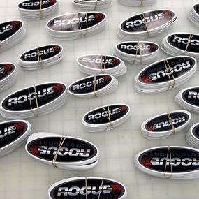 Rogue Custom Oval Stickers
