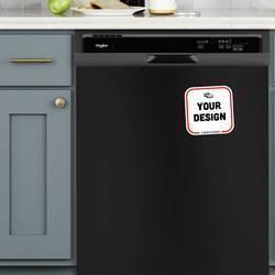 Rounded Corners Magnet Dishwasher