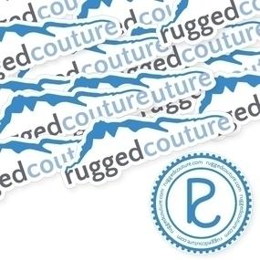 Rugged Couture Custom Die Cut Stickers
