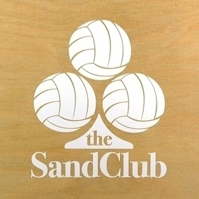 The Sand Club Custom Cut Out Stickers
