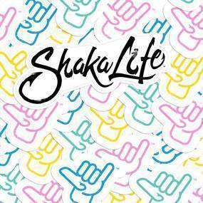 Shaka Life Die Cut Stickers