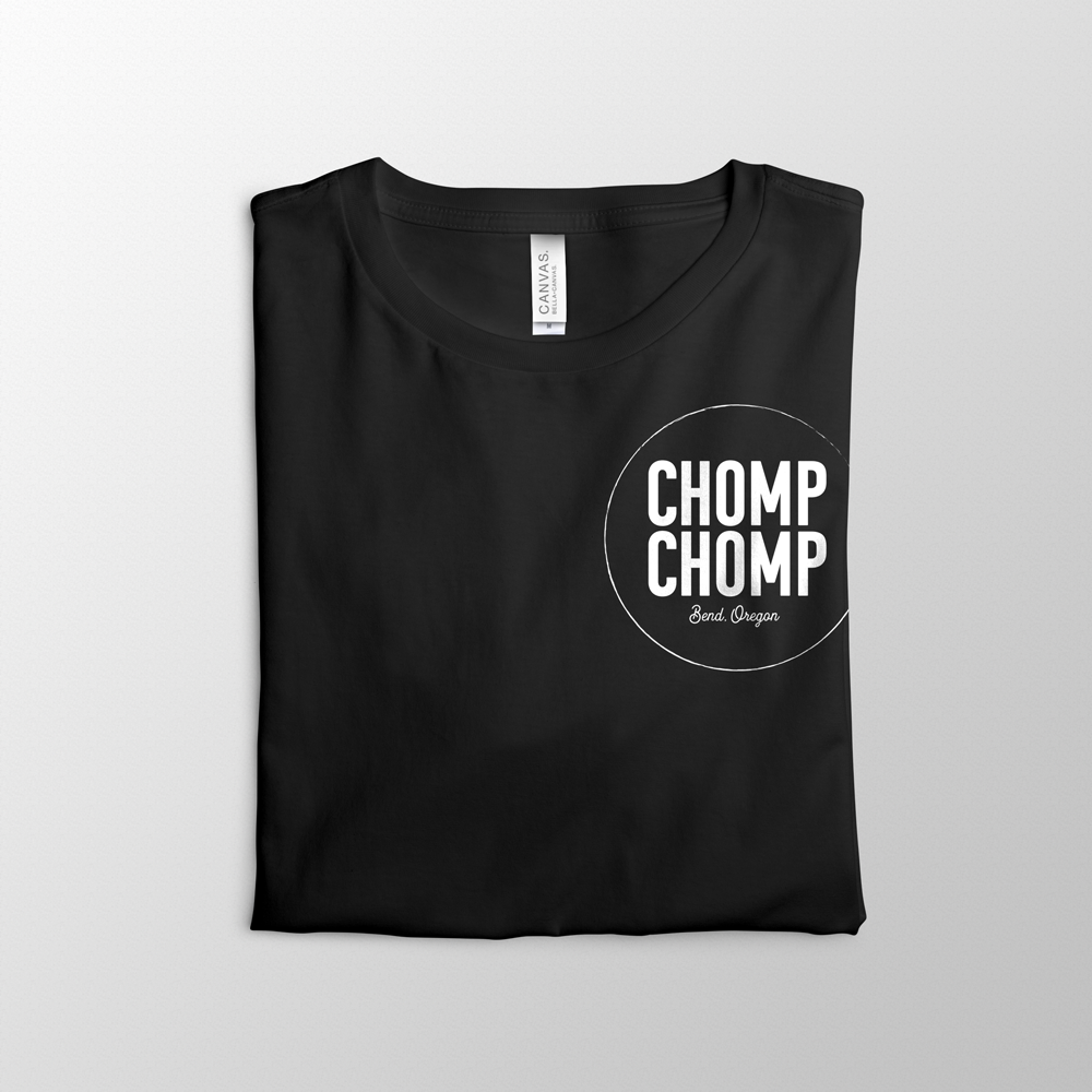 Chomp Chomp Tee Design