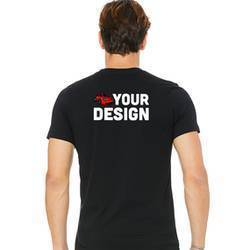 Mens Short Sleeve T-Shirt Example Back