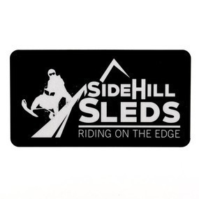 Side Hill Sleds Custom Printed Rectangle Stickers