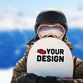Die Cut Snowboard