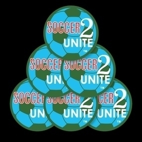 Soccer 2 Unite Custom Circle Stickers