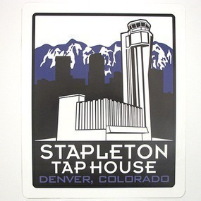 Stapleton Tap House Custom Rounded Rectangle Stickers