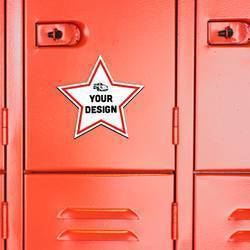 Star Magnet on Locker