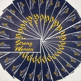 Strong Women Custom Bumper Stickers