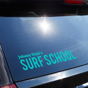 Vinyl Lettering Surf School
