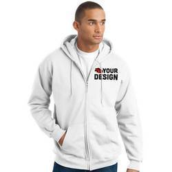 Men's White Sweatshirt Exmaple