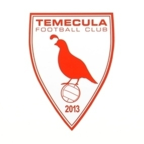 Temecula Football Club Custom Die Cut Stickers