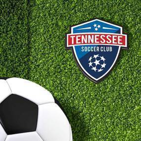 Tennessee Soccer Club Die-Cut Stickers