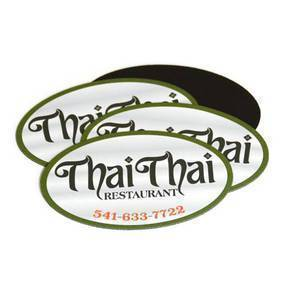 Thai Thai Custom Oval Magnet