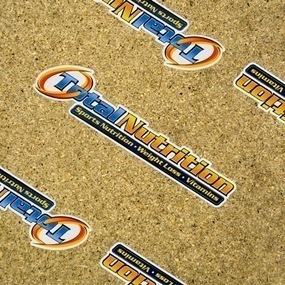 Total Nutrition Die Cut Stickers