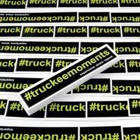 #TruckeeMoments Custom Rectangle Stickers