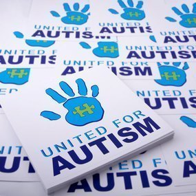 United For Autism Custom Rectangle Stickers