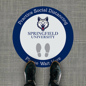 University Floor Stickers 1