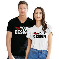 V-Neck Short Sleeve Shirt Example